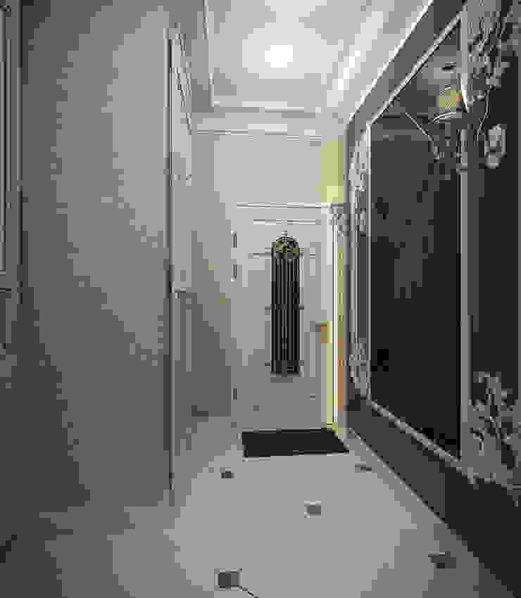 Инна Михайская Classic style corridor, hallway and stairs