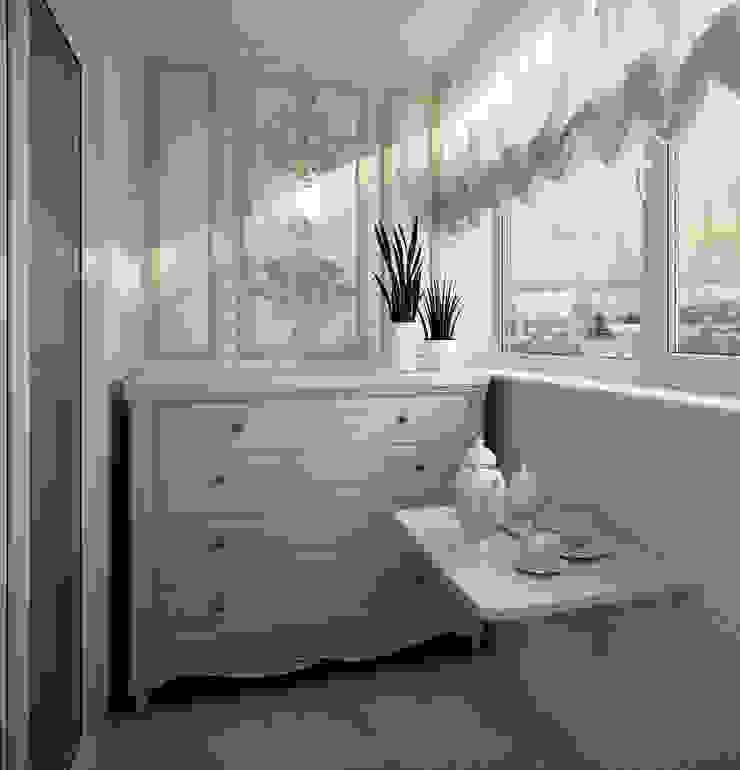 Klassischer Balkon, Veranda & Terrasse von Инна Михайская Klassisch