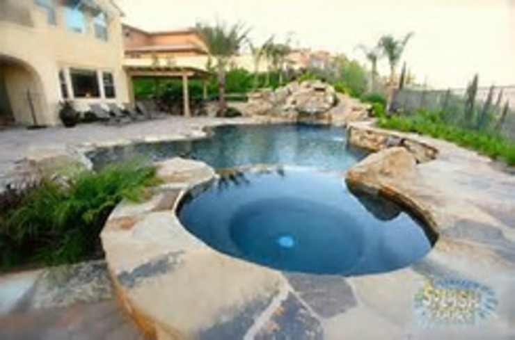Splash Spa pool construction by CapeTown Pools