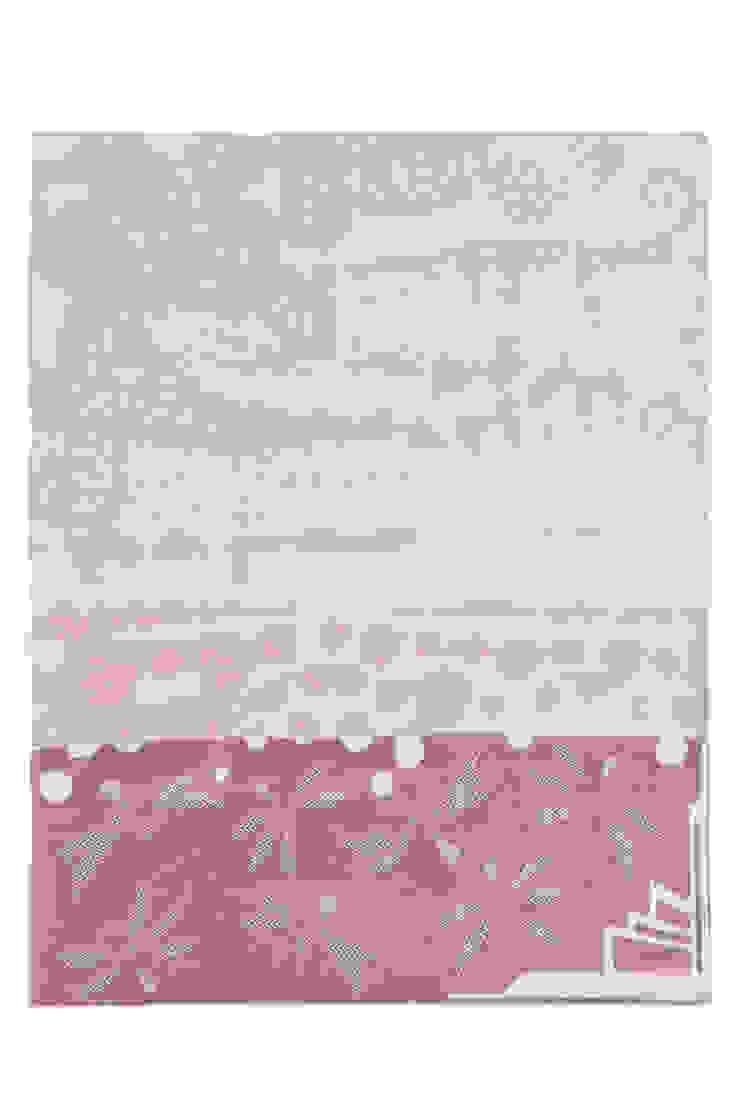 modern  by Roos Soetekouw Design, Modern Flax/Linen Pink