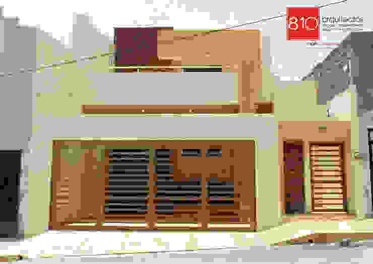 Casa Habitación. de León Martínez Casas estilo moderno: ideas, arquitectura e imágenes de 810 Arquitectos Moderno