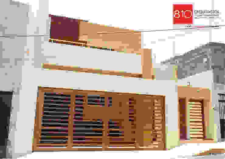 Modern Houses by 810 Arquitectos Modern