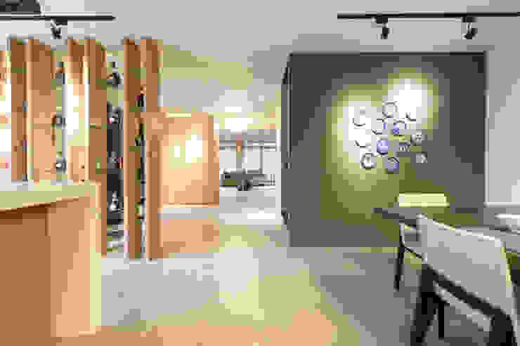 餐廳 根據 果仁室內裝修設計有限公司 簡約風