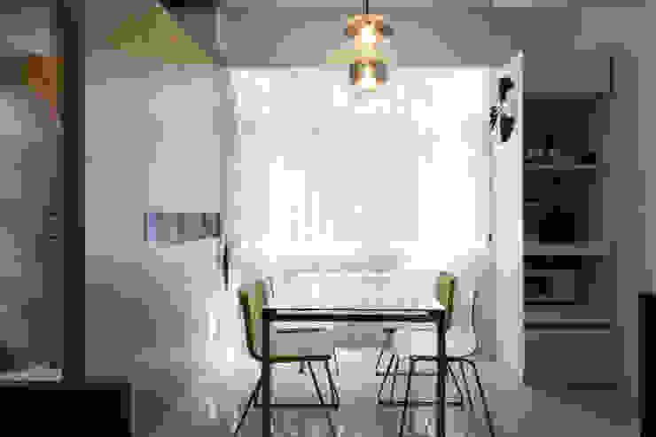 採光餐廳 根據 果仁室內裝修設計有限公司 工業風
