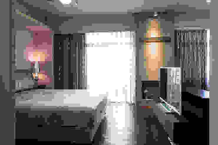 開敞主臥室 根據 果仁室內裝修設計有限公司 工業風