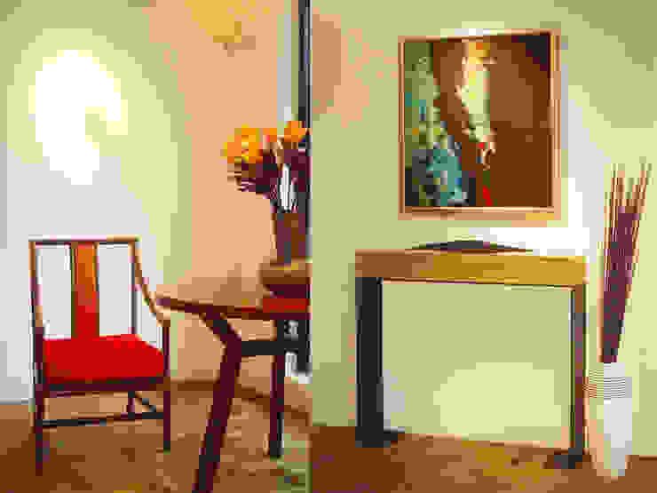 法式風情家具-上海藝庫家俬 工業風的玄關、走廊與階梯 根據 果仁室內裝修設計有限公司 工業風