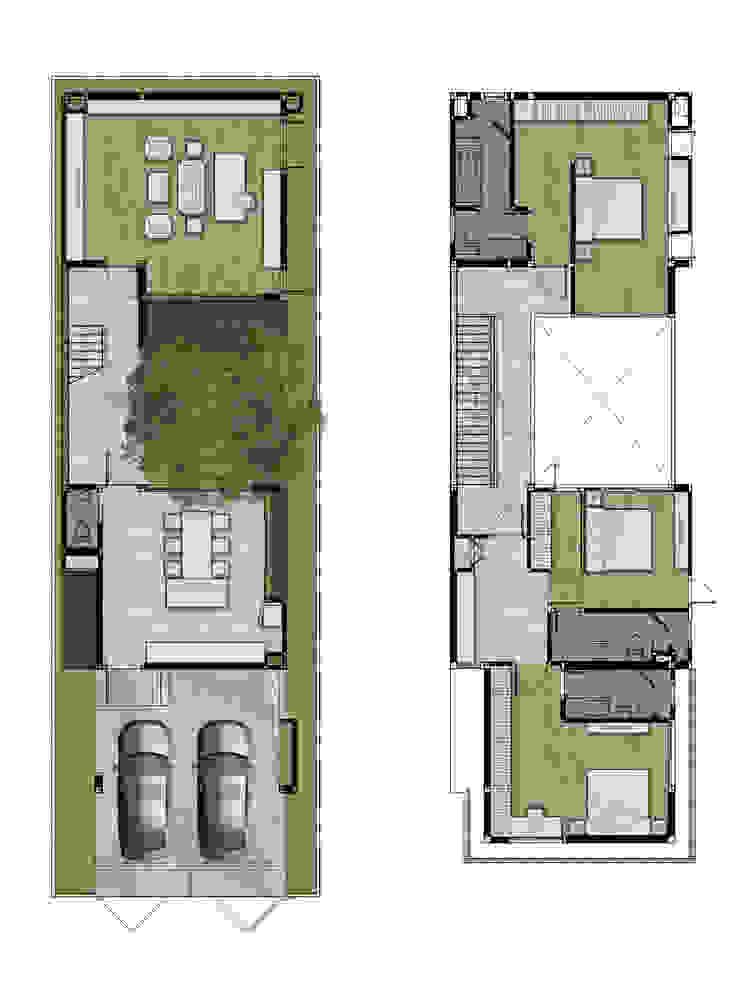 floor plan โดย Gooseberrydesign