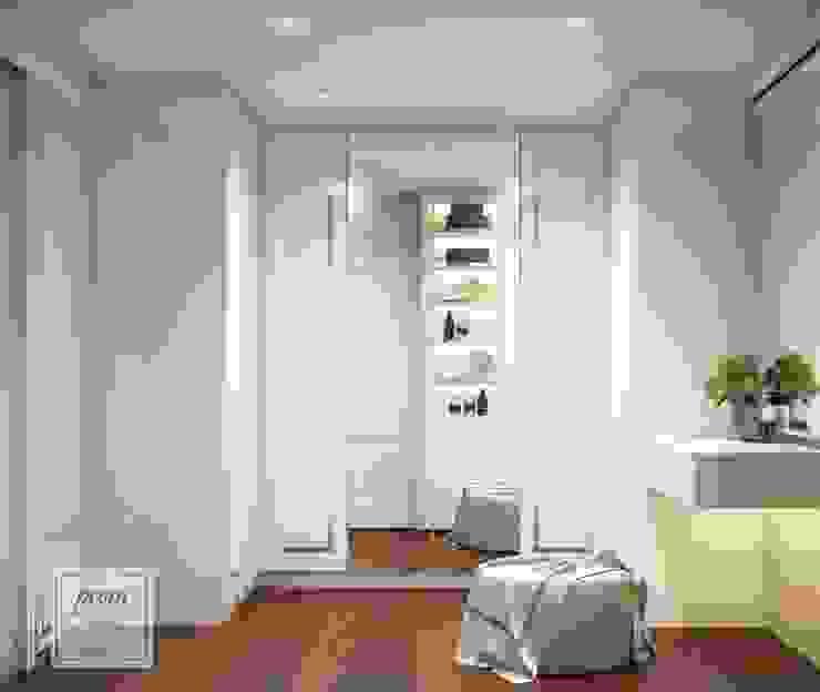 งานออกแบบห้องนอนและห้องแต่งตัว คุณจูน พระราม 2 โดย Promdesign Studio