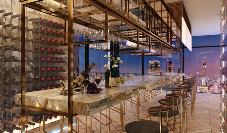 Bespoke wine cellar storage โดย TOFF (Thailand) Company Limited