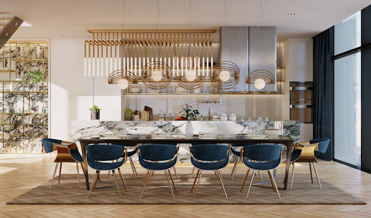 Dining area โดย TOFF (Thailand) Company Limited