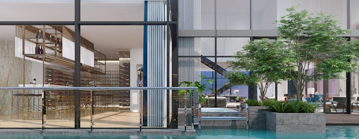 Swimming pool โดย TOFF (Thailand) Company Limited