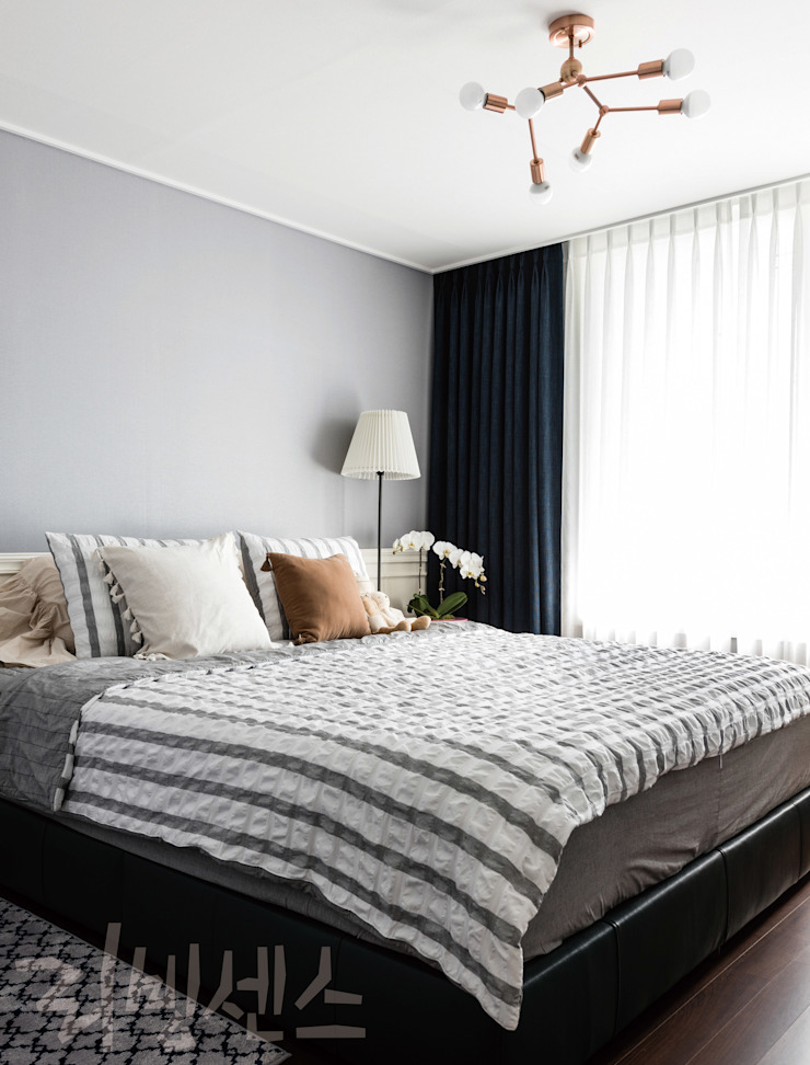 PLANTERIOR – HOUSE 모던스타일 침실 by 보테니크 모던