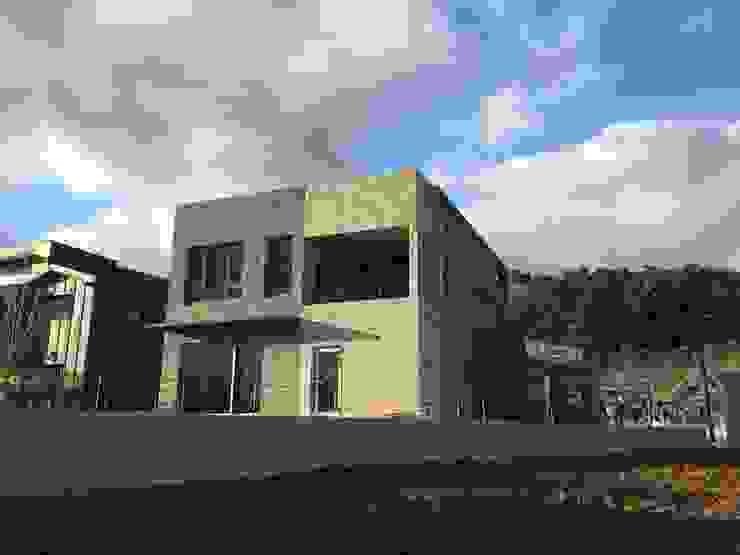 제주영어교육도시 모던스타일 주택 by 원건축 모던