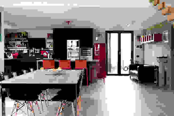 Andrea Picinelli Cocinas de estilo industrial