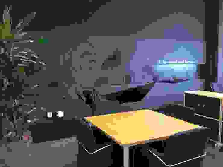 muursticker met Frits Philips Moderne kantoor- & winkelruimten van INinterieurs Modern