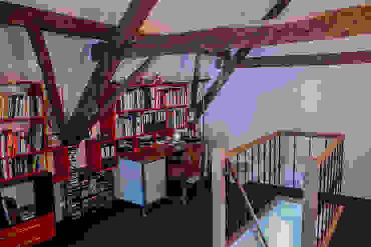 De studie-/werkruimte van Jules Design & Development