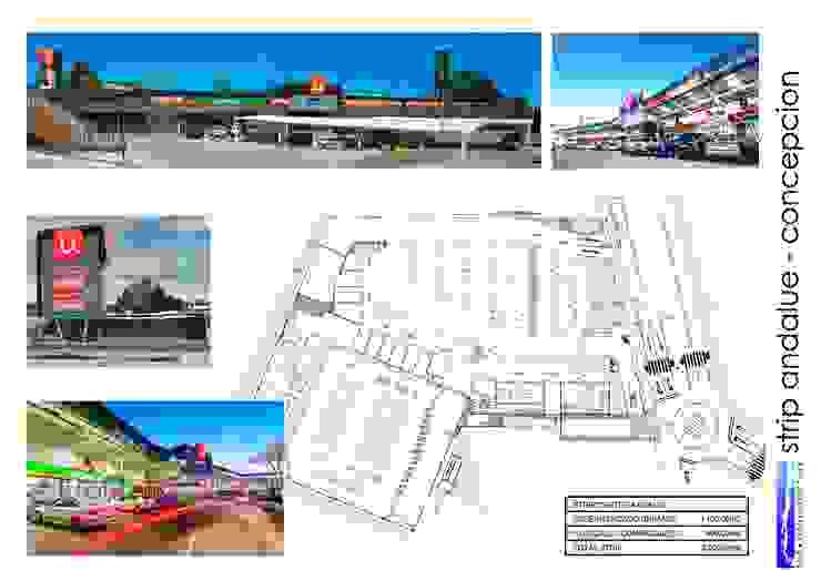 STRIP CENTER ANDALUE de surarquitectura Industrial