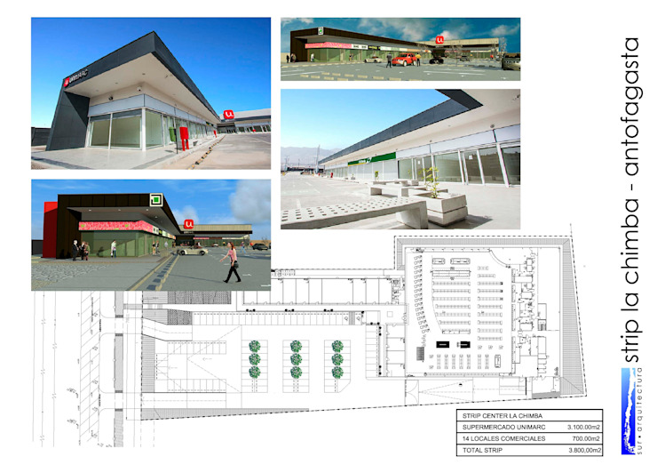 ​STRIP CENTER LA CHIMBA de surarquitectura Industrial