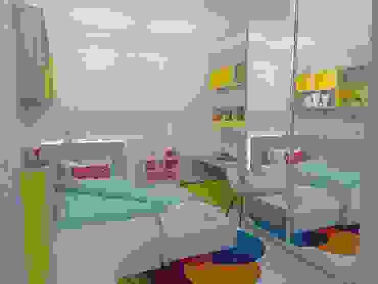 Quarto de menina Barbara Palermo Szucs Interiores Quarto infantil moderno MDF