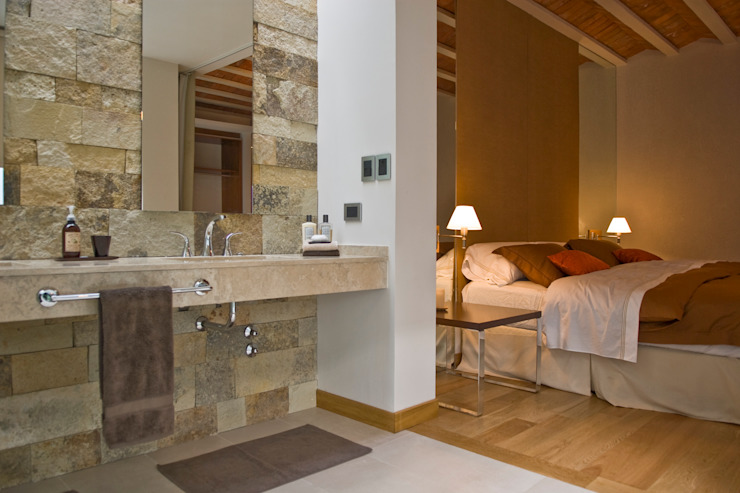 Bathroom by Arquitecta MORIELLO, Modern