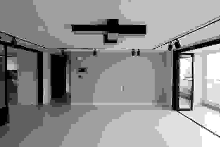 해운대구 좌동 효성코오롱아파트 모던스타일 거실 by 예가컴퍼니 모던