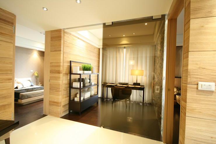 書房 根據 CCL Architects & Planners林祺錦建築師事務所 現代風