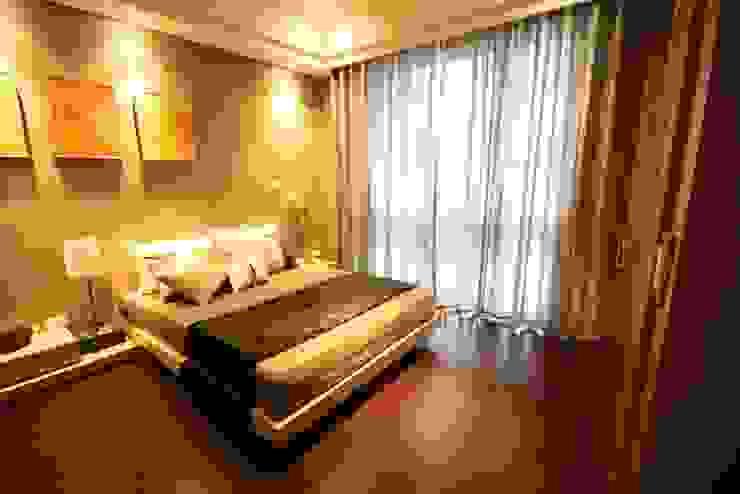 臥室 根據 CCL Architects & Planners林祺錦建築師事務所 現代風