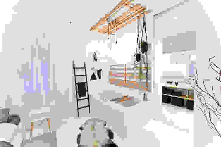 حمام تنفيذ freudenspiel - Interior Design, إنتقائي الخرسانة