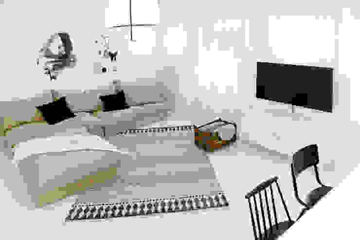 غرفة المعيشة تنفيذ freudenspiel - Interior Design, إنتقائي