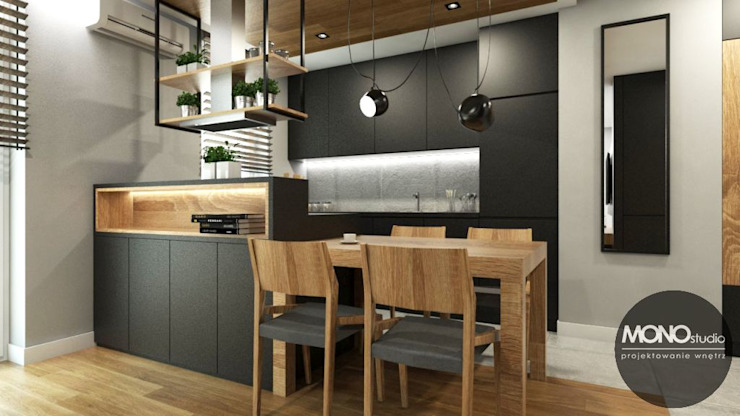 Minimalist kitchen by MONOstudio Minimalist