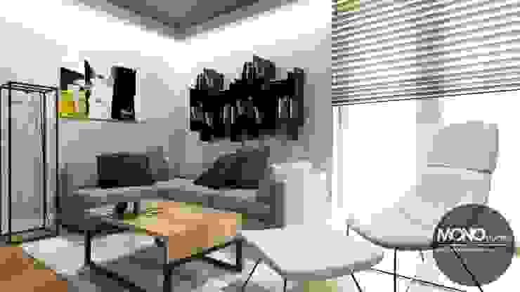 Minimalist living room by MONOstudio Minimalist