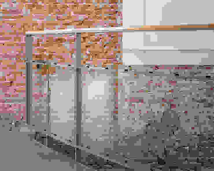 Hugo Caron Architecten bna Dinding & Lantai Modern
