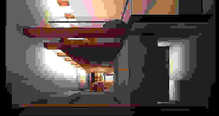 Keuken en speelkamer Moderne keukens van Hugo Caron Architecten bna Modern