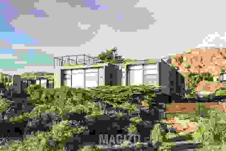Casa Matanzas: Casas de estilo  por MACIZO Arquitectura y Construcción Limitada