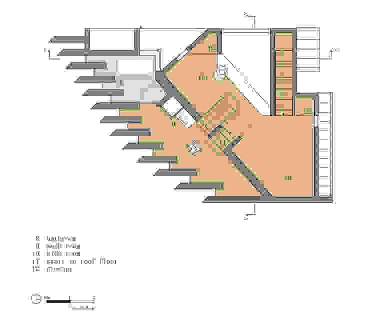 hiện đại  theo 藤原・室 建築設計事務所, Hiện đại