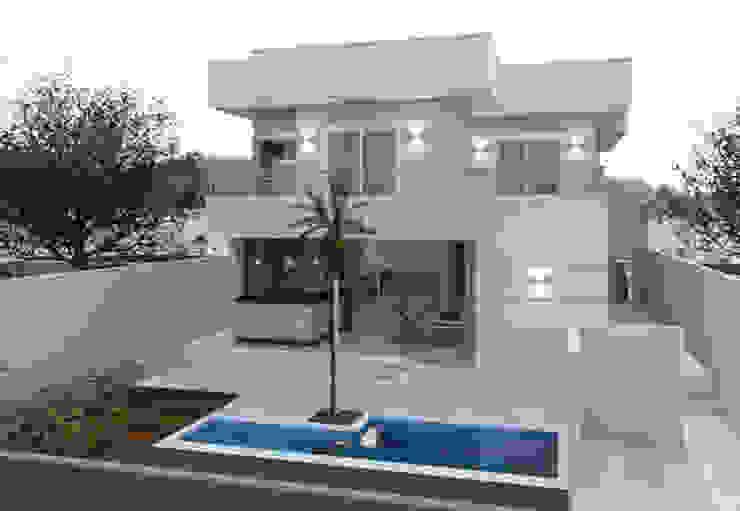 Rumah Modern Oleh Lidia Arantes Arquitetura Modern Batu Bata