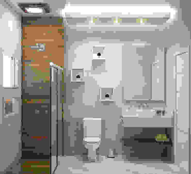 Banheiro WGR Engenharia BanheiroDecoração Bege