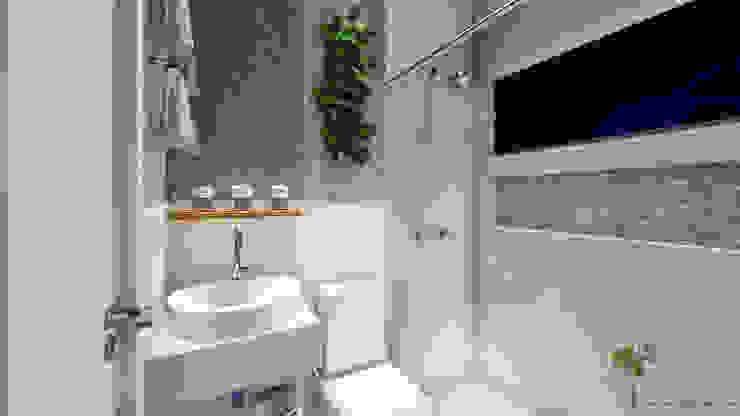 Residência Patrício Banheiros modernos por Oliveira Arquitetura Moderno