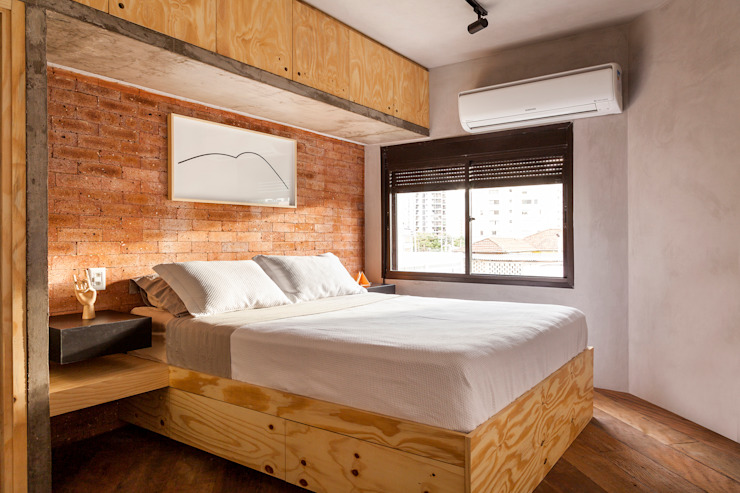 Modern Bedroom by Tripper Arquitetura Modern