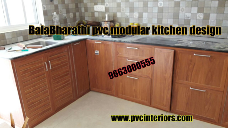 best pvc  cupboards design in Bangalore, best pvc furniture cupboard in Bangalore  : modern  by balabharathi pvc interior design,Modern