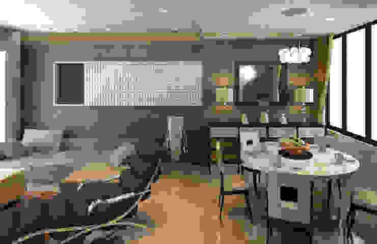 Sheth Residence Modern living room by Ramnani & Associates Modern
