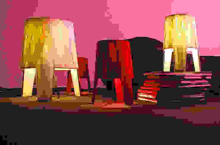 Dress de Fambuena de Años Luz Iluminación de Vanguardia Moderno