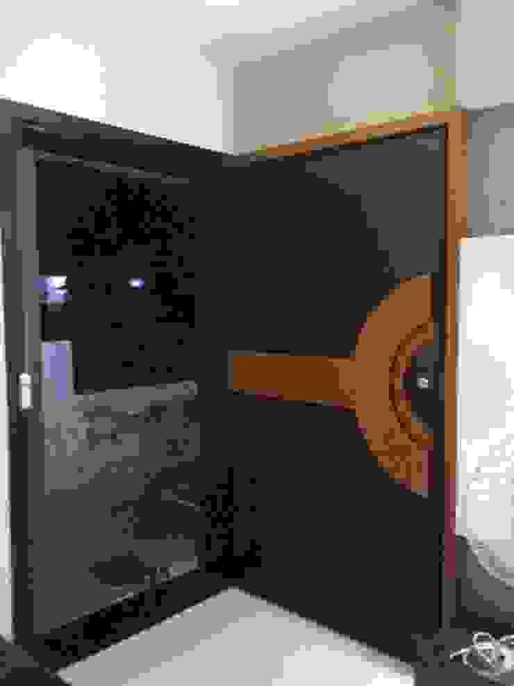 MR. HARSHIT HOUSE Modern windows & doors by IDcreators Interior Designers Modern