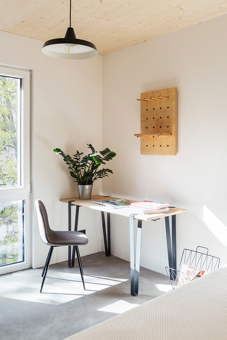 Sehw Architektur Hotel Minimalis Kayu White