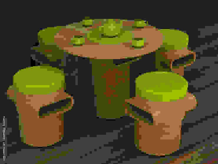 Coffee table + stool: minimalist  by Preetham  Interior Designer,Minimalist