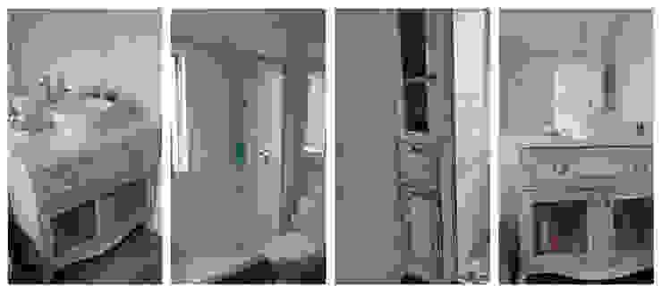 Eclectic style bathroom by Construcción y Arquitectura Sustentable Spa. Eclectic