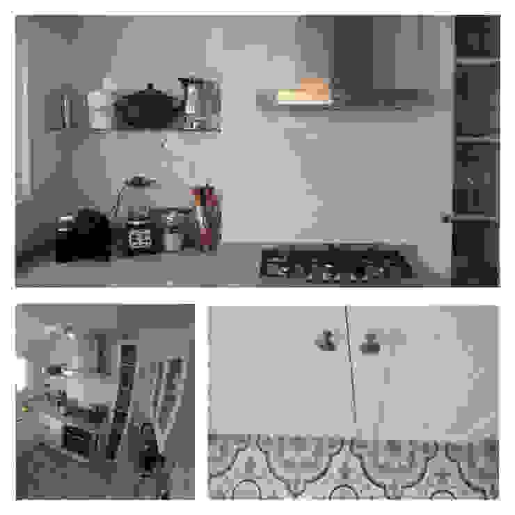 Remodelación Departamento vivienda: Cocinas de estilo  por Construcción y Arquitectura Sustentable Spa.