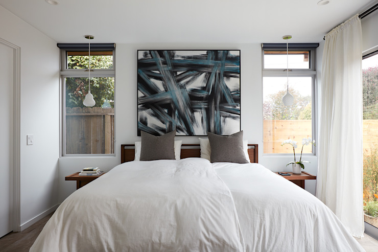 Modern style bedroom by Klopf Architecture Modern