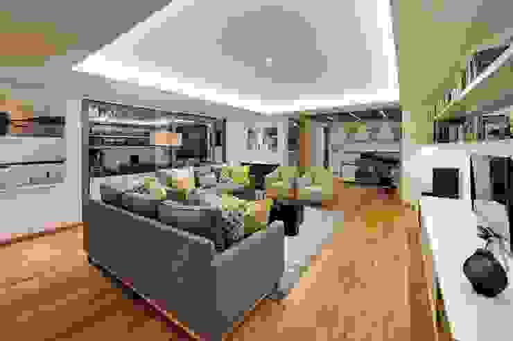 Modern Media Room by Dear Zania Interiors Modern