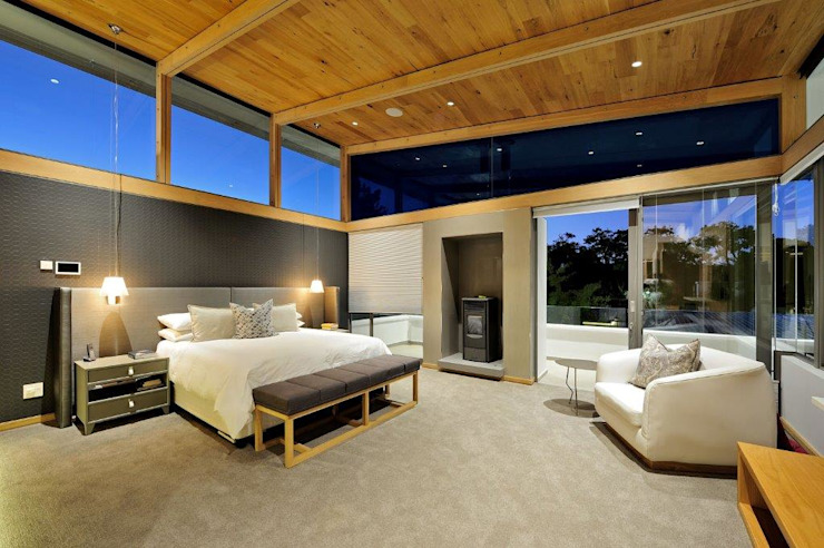 Project Stellenbosch Modern style bedroom by Dear Zania Interiors Modern